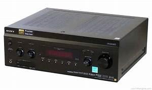 Sony Str-da3500es - Manual