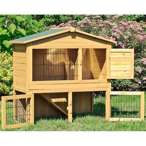 gabbie per conigli da esterno gabbia per conigli nani in legno da esterno o interno