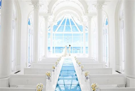 stunning cathedrals  chapels  asia  wedding