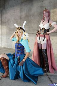 Adventure Time Steampunk Cosplay