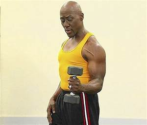 Rotator Cuff Exercise Uses Dumbbell
