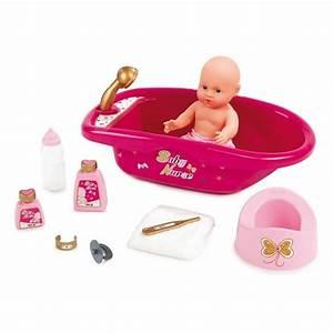 SMOBY Baby Nurse Set Baignoire Accessoires Achat