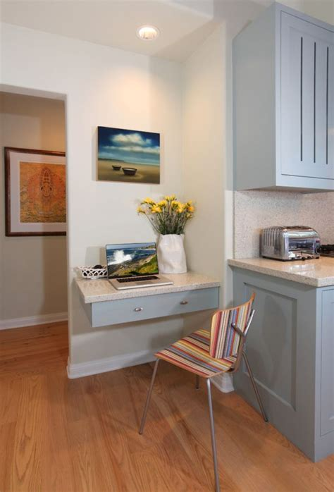 small kitchen desk ideas 20 clever ideas to design a functional office in your kitchen
