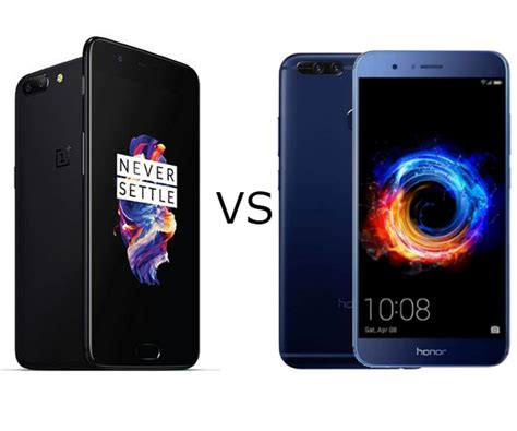 huawei honor 8 pro vs oneplus 5 technoarea