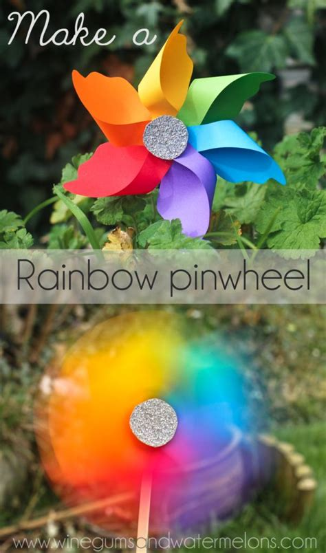 rainbow crafts food