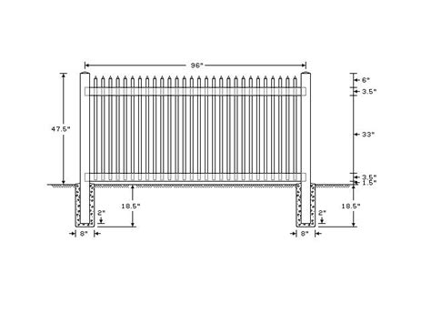 standard fence height standard picket fence height google search retirement dreams pinterest