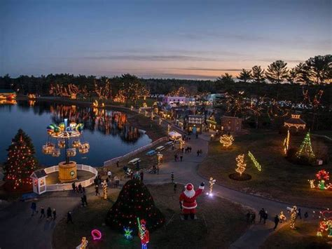 edaville s christmas festival of lights is here for the
