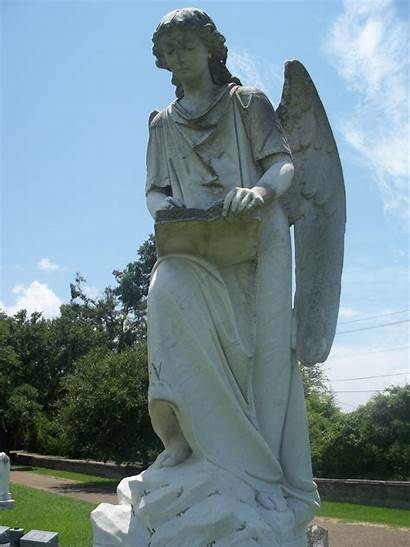 Natchez Angel Turning Mississippi Ms Cemetery Trace