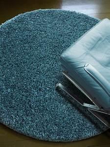 Teppich Hochflor Blau : preisvergleich eu langflor teppich rund 200 ~ Indierocktalk.com Haus und Dekorationen