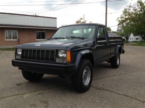 jeep comanche 4x4 purchase used 1988 jeep comanche low miles immaculate