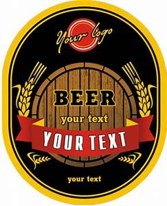 beer logo vector labels With beer logo maker