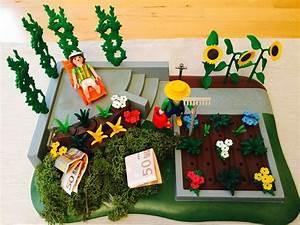 Garten Gutschein Basteln : supertolles playmobil garten geldgeschenk geschenke ~ Lizthompson.info Haus und Dekorationen