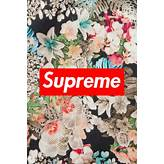 Supreme floral wallpaper | ホームアイデア | Pinterest | 花柄 ...