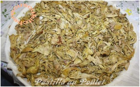 cuisine marocaine pastilla pastilla au poulet et amandes sousoukitchen