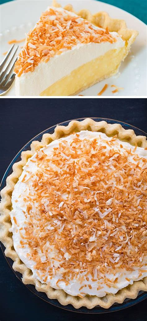 coconut pie click pic for 23 and easy thanksgiving desserts recipes for