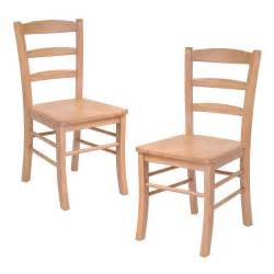 wooden kitchen furniture winsome dining wood side chairs in light oak finish set of 2 by oj commerce 34232a