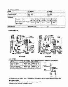 Wiring Diagram Diagram  U0026 Parts List For Model Af1804m6