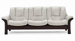 Circle furniture buckingham stressless lowback sofa for Sectional sofas circle furniture