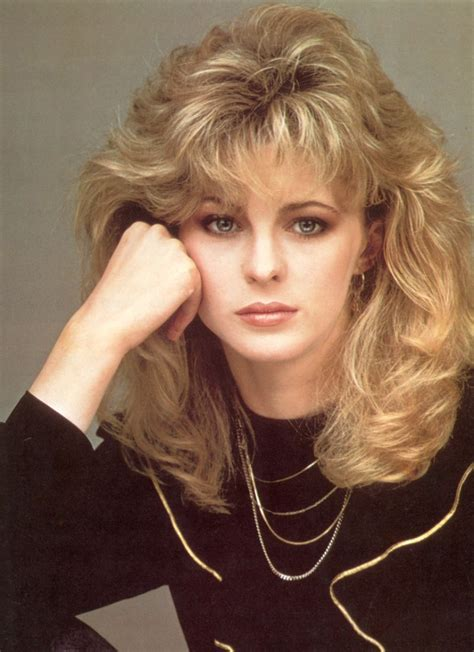 S Layered Hairstyles by 1980s Hairstyle With Layers Around The Bangs
