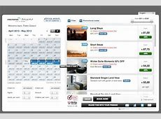 Hotel Booking Mobile App User Interfaces