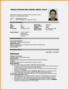 cv resume sample malaysia resume template cover letter With curriculum vitae builder