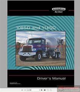 Freightliner 108sd And 114sd Driver U0026 39 S Manual