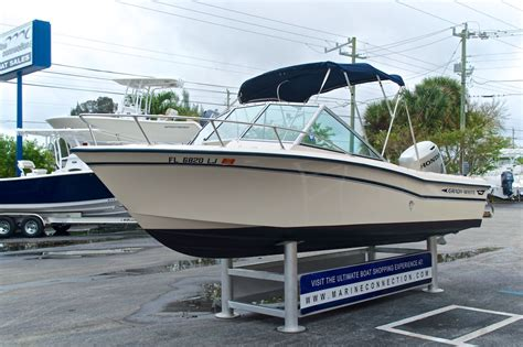 Grady White Tournament Boats by Used 1988 Grady White Tournament 19 Dual Console Boat For