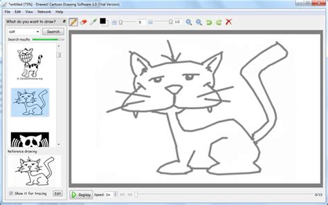 drawez cartoon drawing software    windows