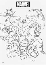 Coloring Pages Marvel Print sketch template