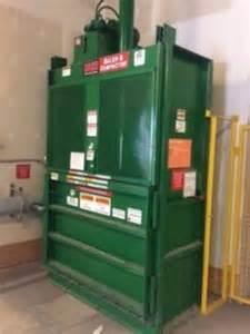 Used Cardboard Compactor Baler