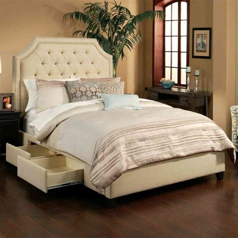 King Size Platform Bed With Headboard by Bedroom Cool Furniture Design With Platform Bed Frame Also