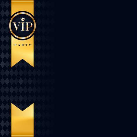 Vip Luxury Background Template Vectors 04