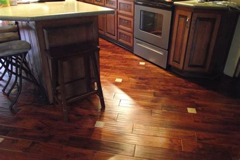 tile wood floor combination for the home