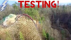 Original  Dollywood Lightning Rod Test Run Real