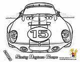 Coloring Mans Le Daytona Shelby Printables Coupe Race Cars 2009 Yescoloring Boys Powerful Formula sketch template