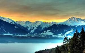 wallpapers: Icy Mountains Wallpapers