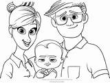 Boss Coloring Pages Parents Portrait Tim Dreamworks Printable Cartoon Puppy Brother Bestcoloringpagesforkids Animation Getcolorings Forever Pdf sketch template