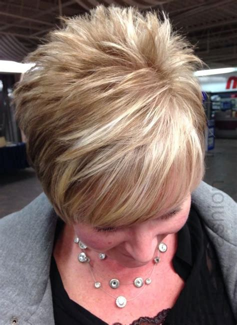 image result  blonde  brown highlights  short hair