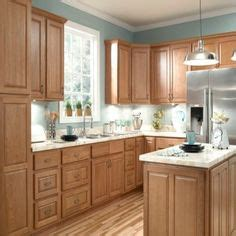 honey oak kitchen cabinets wall color honey oak cabinets with orange wall kitchen ideas 8420