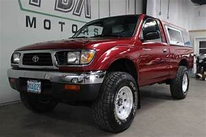 1997 Toyota Tacoma 4x4 Pickup With Manual Transmission For