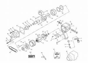 Ingersoll 4 U0026quot  Drive Air Impact Wrench Repair Parts