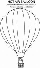 Balloon Coloring Air Printable Craft Balloons Template Colouring Drawing Ballon Studyvillage Crafts Pdf Adult Activities Da Therapy Transportation Dibujo Techniques sketch template