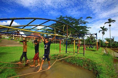 wisata desa kampung bambu bogor yoshiewafa