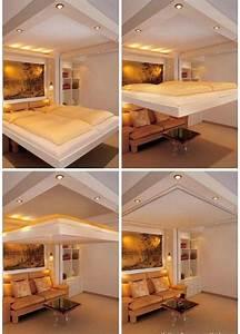 Aménagement Petite Chambre : comment am nager une petite chambre coucher 29 id es 2 ~ Melissatoandfro.com Idées de Décoration