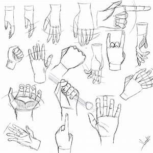 Manga Hand drawings by DevineSync on DeviantArt