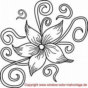 Blumen Zum Ausdrucken : ausmalbilder blumen ranken kostenlos malvorlagen zum ausdrucken ~ Watch28wear.com Haus und Dekorationen