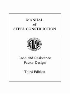 Lrfd Manual Of Steel Construction