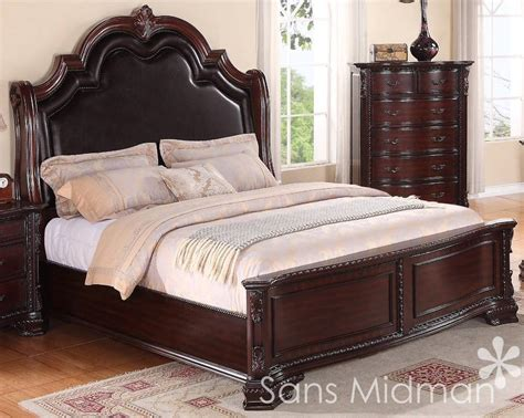 sheridan collection king size bed traditional cherry