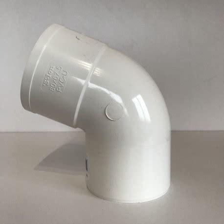 gouttière pvc blanc coude goutti 232 re pvc blanc 67 176 mf d80