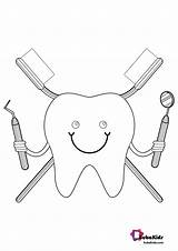 Dentist Coloring Pages Bubakids Cartoon Printable Google Ads sketch template